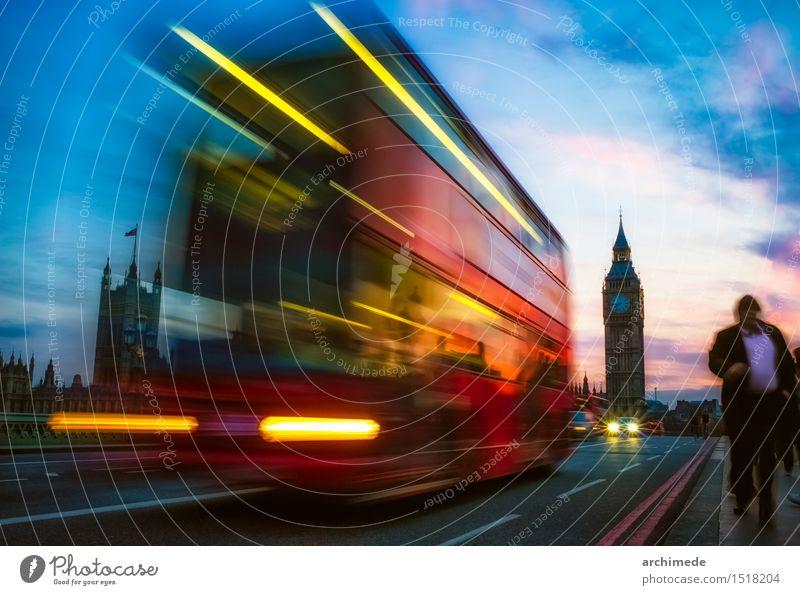 London Vacation & Travel City Street Movement Transport Trip Commuter Big Ben