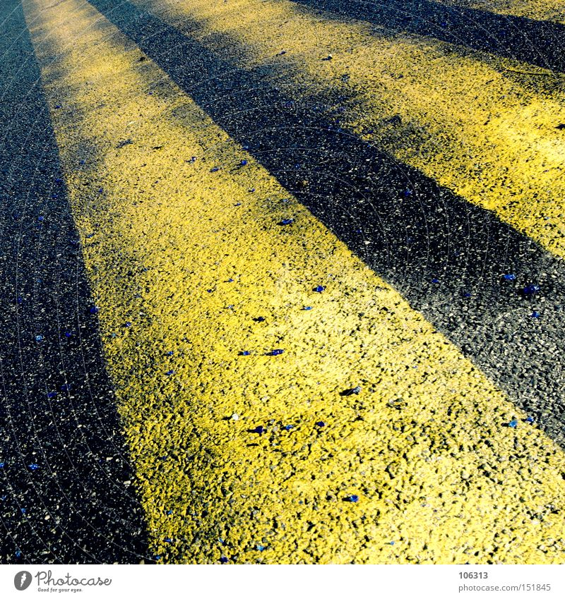 Yellow Signs and labeling Perspective Driving Asphalt Stripe Airport Airport Graphic Runway Traffic lane Fraud Aviation