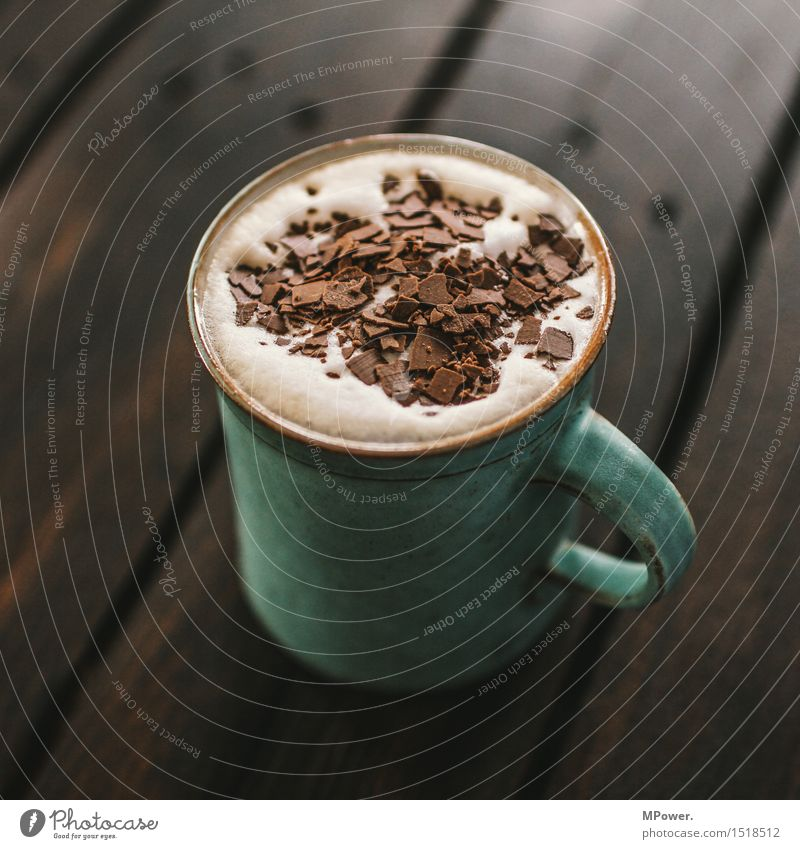 hot choc Nutrition Breakfast To have a coffee Beverage Hot drink Hot Chocolate Coffee Latte macchiato Cup Mug Sweet Chocolate crumble Caffeine Café au lait Foam