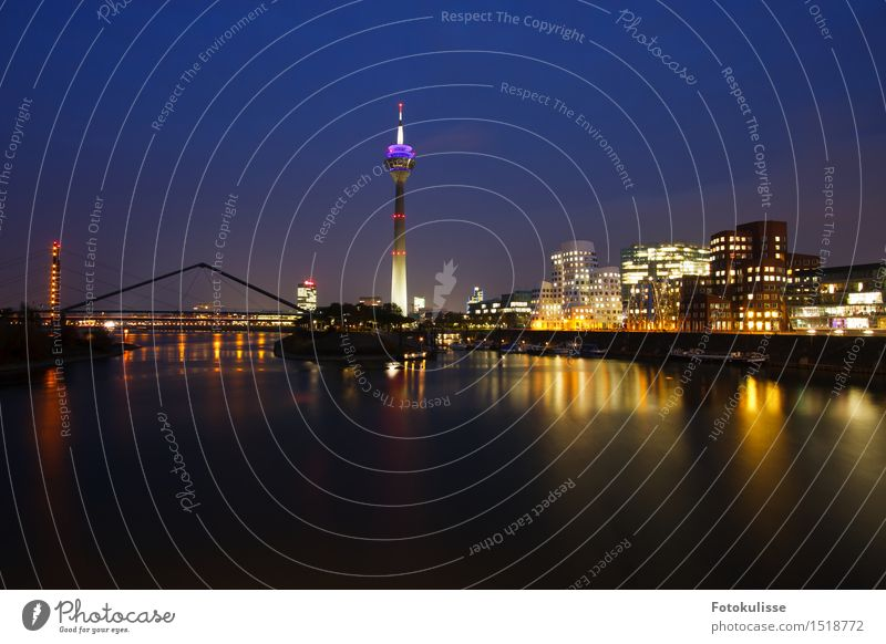 Media Port Düsseldorf Lifestyle Shopping Style Design Photography Vacation & Travel Tourism Trip Sightseeing City trip Night life Economy Media industry