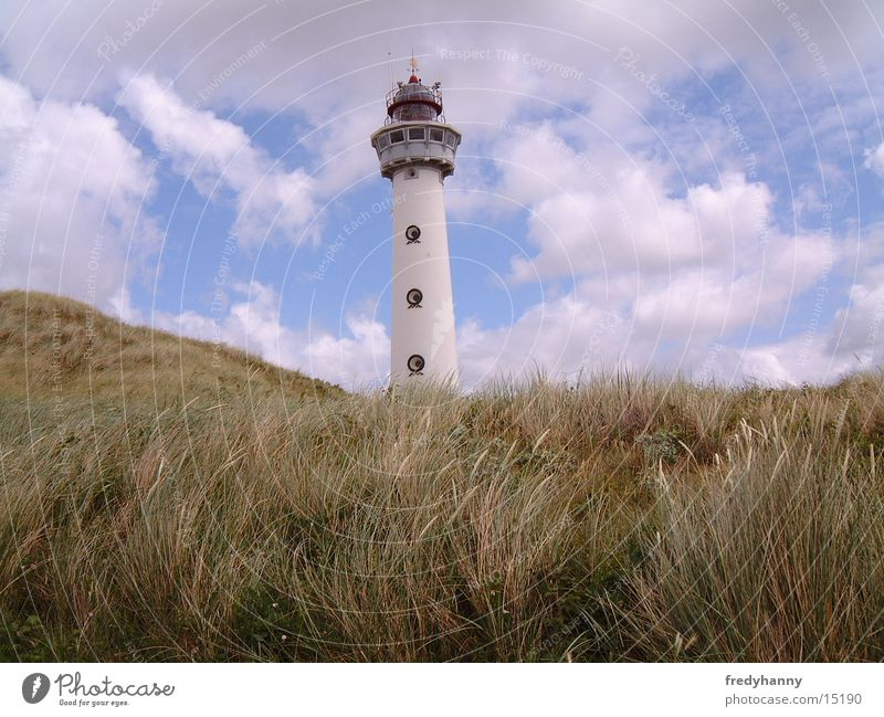 Coast Architecture Tower Lighthouse Netherlands