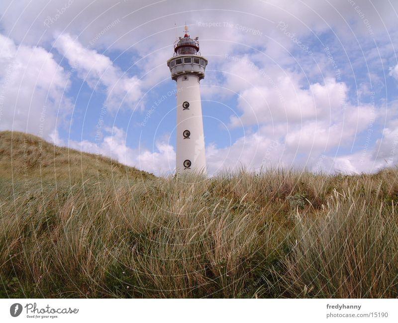 lighthouse Lighthouse Coast Netherlands Architecture Tower