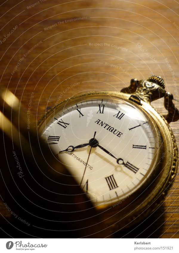 Traumzeit Old Think Dream Art Time Gold Elegant Clock Growth Future Change Search Transience Digits and numbers Culture Clock face