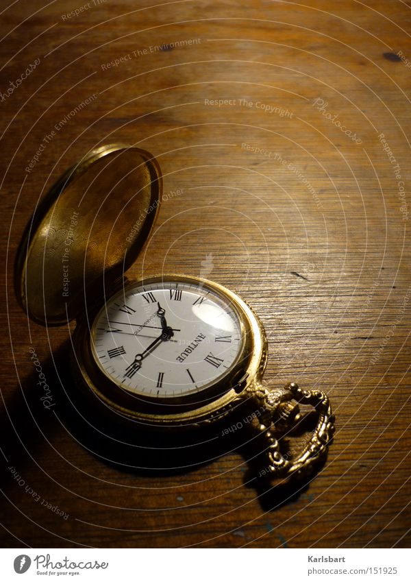 Gegen die Zeit ... Old Relaxation Time Art Dream Brown Clock Arrangement Transience Clock face Digits and numbers Culture Search Desk Nostalgia Ancient