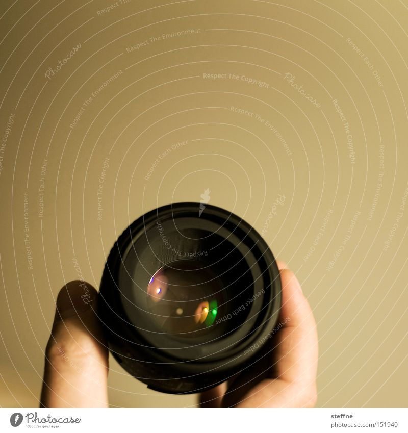 subjective Objective Hand Reflection Lens Shard Leisure and hobbies Photographic technology fixed focal length 50mm Powerful