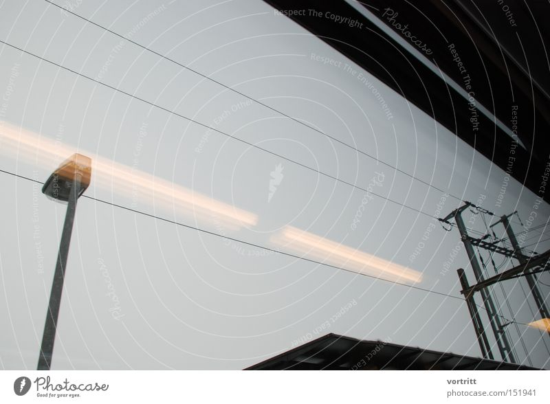 Lamp Dark Railroad Speed Perspective Industry Electricity Industrial Photography Cable Graphic Minimal