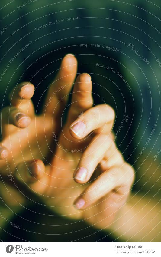Hand Dark Sadness Fear Fingers Panic Defensive