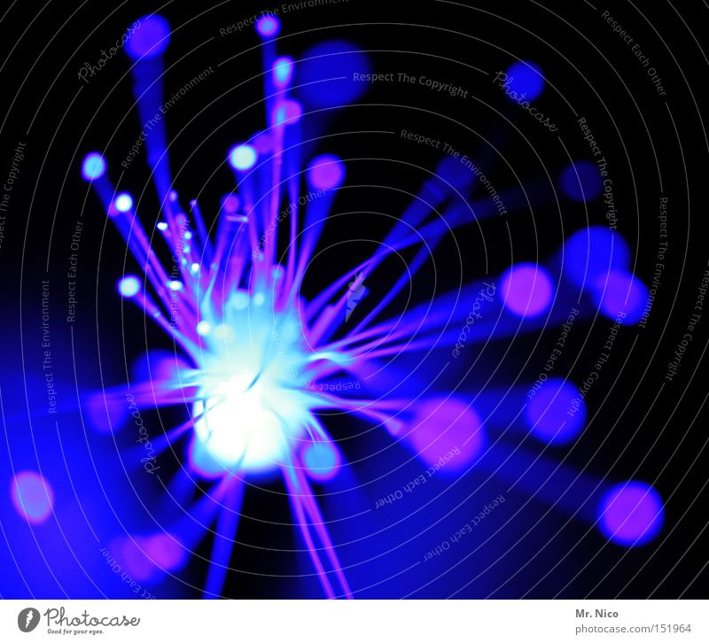 Blue New Year's Eve Firecracker Obscure Seventies Visual spectacle Explosion Work of art Point of light Patch of colour Beam of light Bang