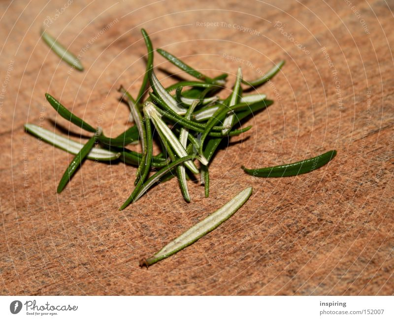 Rosemary sends its greetings Herbs and spices Kitchen Healthy Delicious Green Plant Gourmet Vegetable Gastronomy