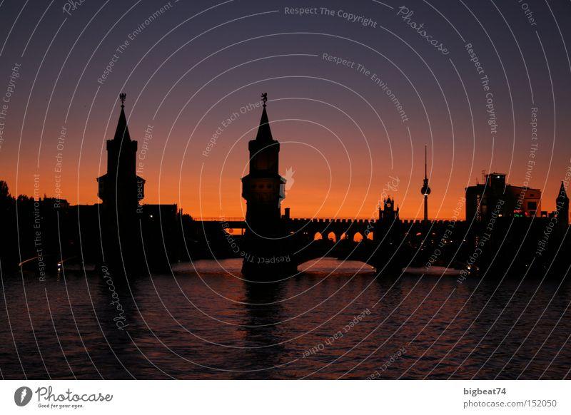 summer days Berlin Sunset Romance Spree Twilight Boating trip Bridge