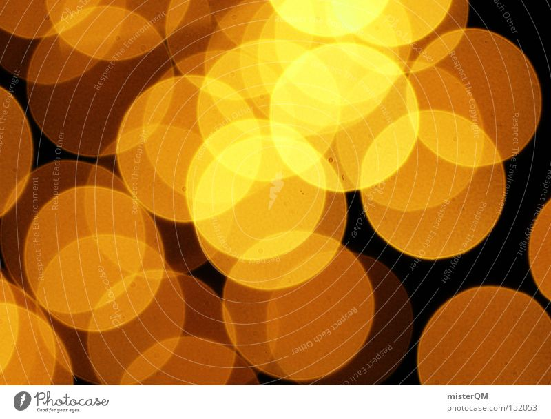 Golden Eye Reloaded - Christmas is here to light up. Blur Circle Abstract Retro Magic Pattern Glittering Art Pensive Light Moody The eighties Detail Colour
