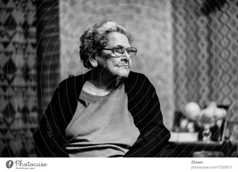 The best Healthy Care of the elderly Living or residing Flat (apartment) Feminine Female senior Woman Grandmother Family & Relations Senior citizen