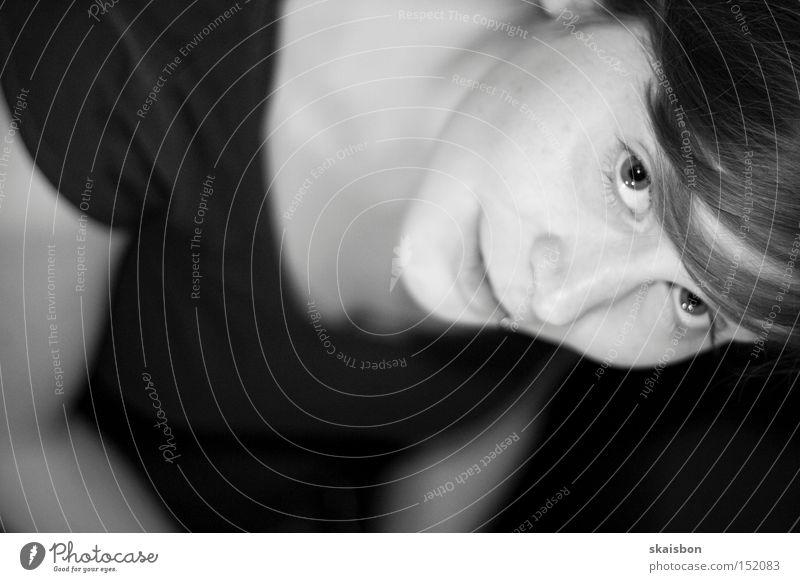Woman Human being Beautiful Face Eyes Emotions Trust Curiosity Interest Flirt