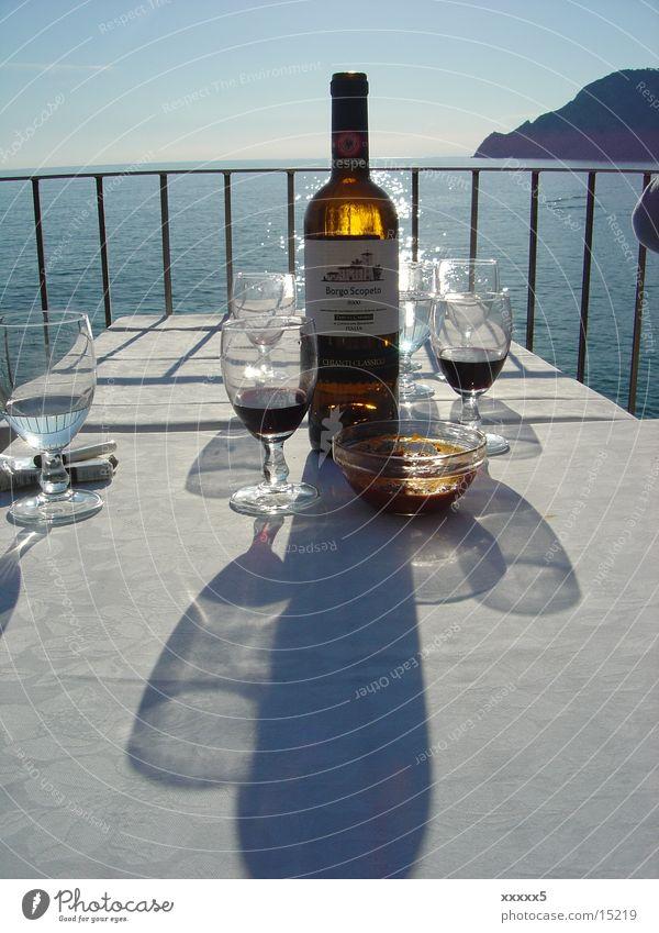 Water Ocean Glass Wine Bottle Packaging