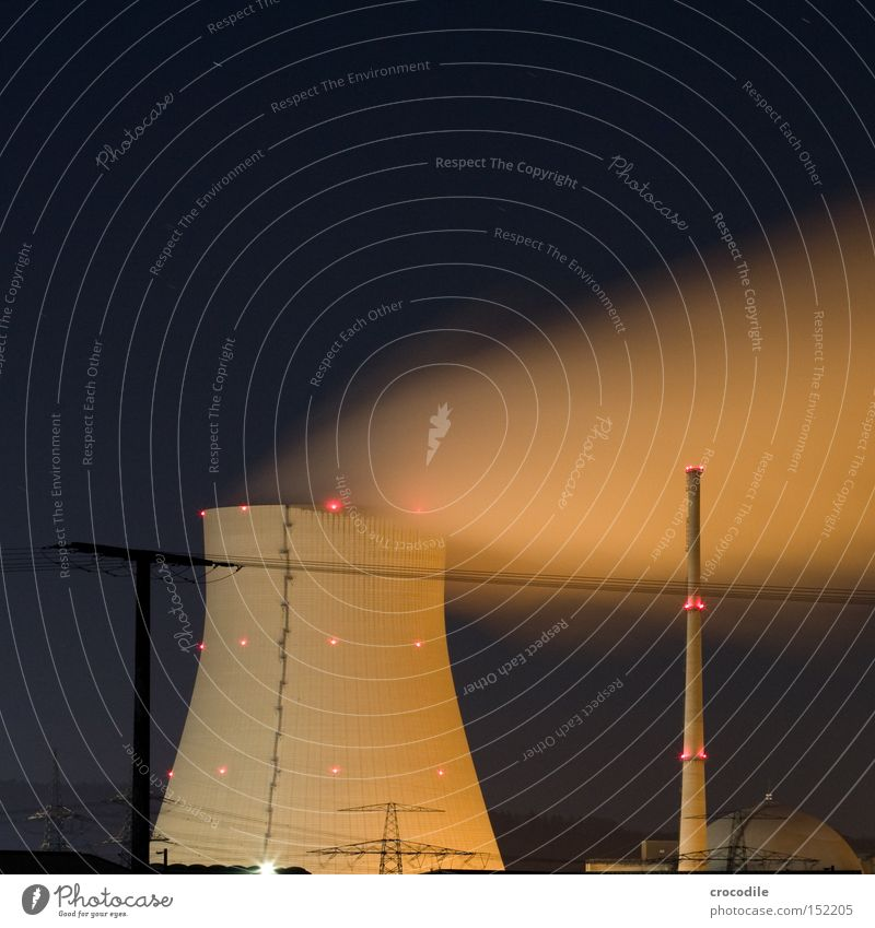 Lighting Power Energy Force Industry Electricity Dangerous Threat Radiation Environmental pollution Nuclear Power Plant Resign Switch off Resigning Radioactivity Nuclear waste