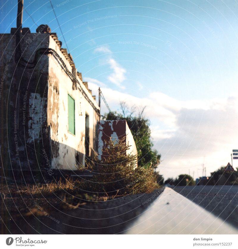 Old Street Island Analog Derelict Americas Fuerteventura Medium format