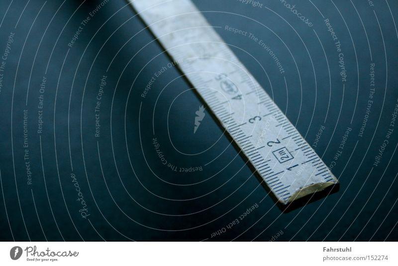 folding rule Metre-stick Meter Tool Measure Wood Craft (trade) Workshop Detail