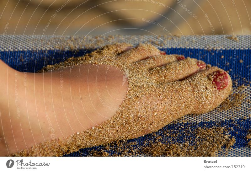 Human being Beautiful Ocean Joy Beach Vacation & Travel Feet Sand Legs Couch Cosmetics Toes 10 Striped Neighbor Nail polish