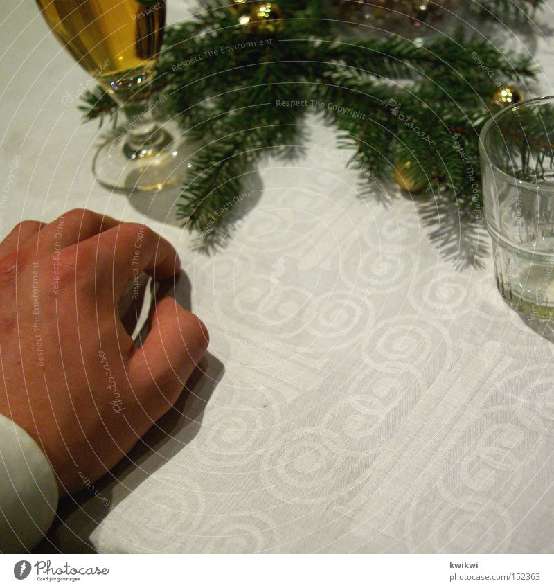 christmas party Christmas & Advent Feasts & Celebrations Suit Man Hand Table Noble Elegant Beer Restaurant Gastronomy Alcoholic drinks Roadhouse