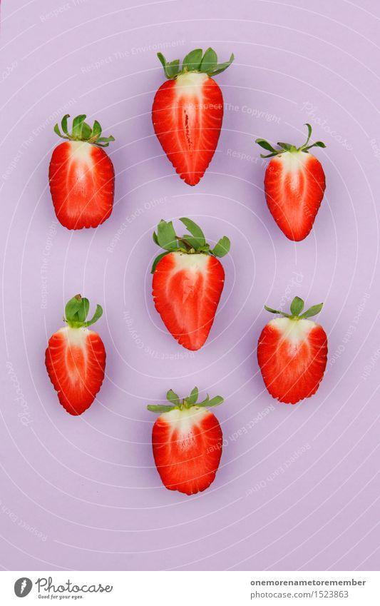 tetris strawberries Work of art Esthetic Strawberry Strawberry ice cream Strawberry shake Strawberry yoghurt Strawberry jam Strawberry variety Delicious