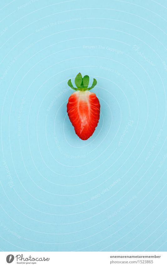 Red Art Design Fruit Esthetic Work of art Strawberry Eye-catcher Strawberry pie Strawberry yoghurt Strawberry shake