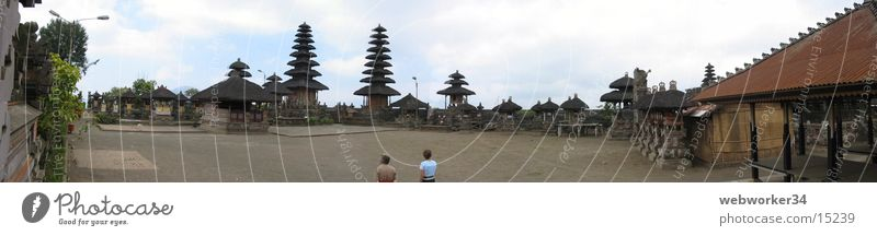 Religion and faith Large Places Asia Culture Panorama (Format) Temple Bali Los Angeles Pagoda