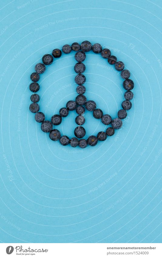 Peace Blueberries Work of art Esthetic Sign Symbols and metaphors Blueberry Healthy Eating Delicious Calm Relaxation Signs and labeling Home-made Hippie Sixties