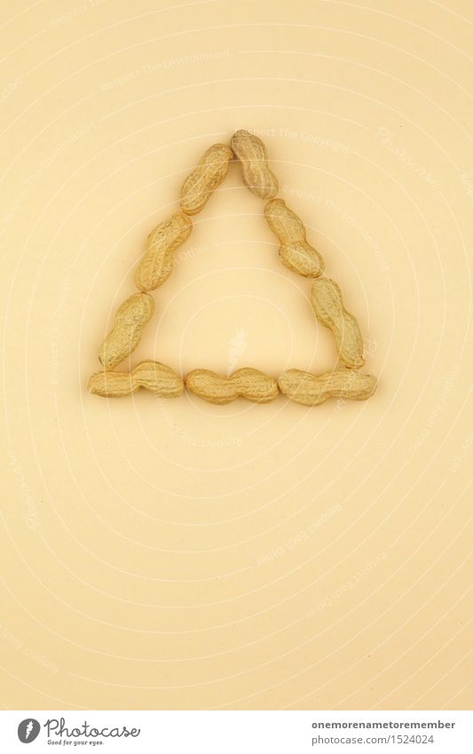 Healthy Eating Food photograph Art Brown Esthetic Creativity Symbols and metaphors Delicious Vegetarian diet Work of art Symmetry Beige Nut Snack Triangle