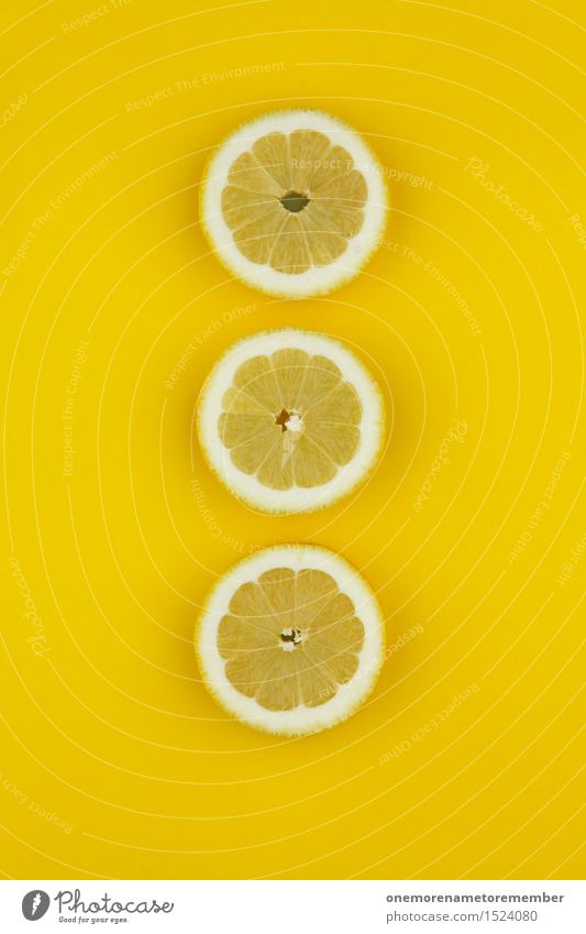 Dirty lemon triad Art Work of art Esthetic Lemon Lemon yellow Lemon peel Slice of lemon Yellow Design Fashioned Row 3 Common cold Vitamin C Colour photo