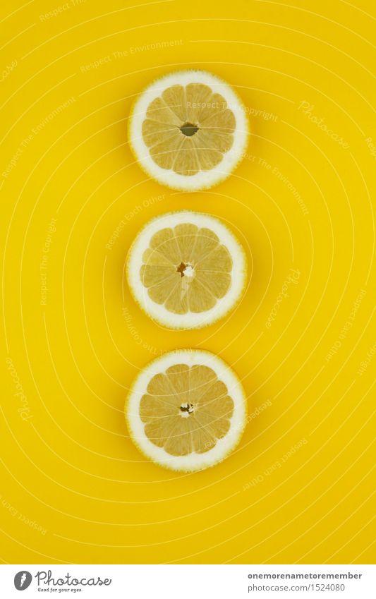 Dirty lemon triad Art Work of art Esthetic Lemon Lemon yellow Lemon peel Slice of lemon Yellow Design Fashioned Row 3 Common cold Vitamin C Colour photo