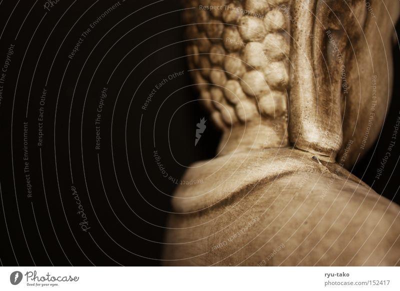 Calm Black Relaxation Stone Religion and faith Back Ear Peace Simple Fluid Behind Awareness Buddha Interesting Buddhism