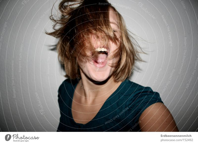 Joy Emotions Hair and hairstyles Party Music Feasts & Celebrations Dance Dance event Anger Scream Movement Brash