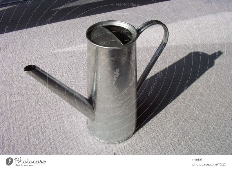 Water Flower Garden Gray Living or residing Silver Watering can