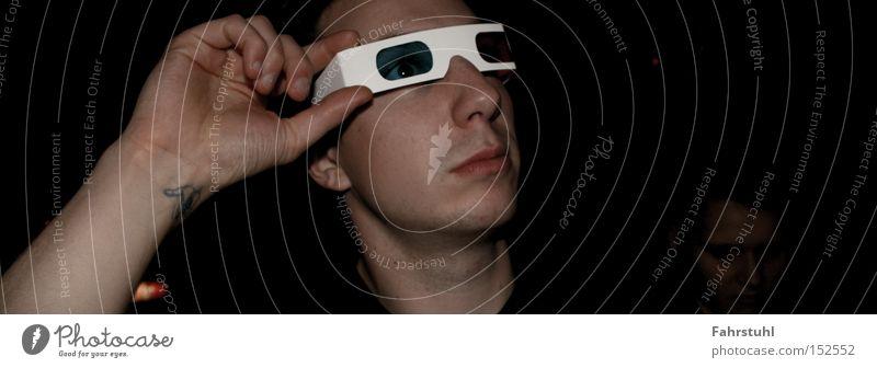 Man Hand Face Arm Paper Eyeglasses Club Three-dimensional Human being