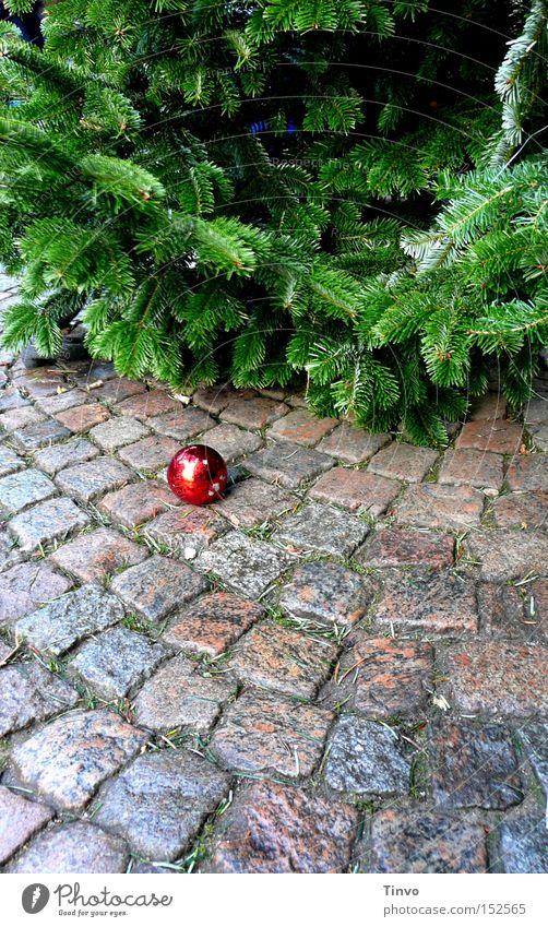 Christmas & Advent Christmas tree Cobblestones Glitter Ball Christmas decoration Christmas Fair Fir branch Christmas tree decorations