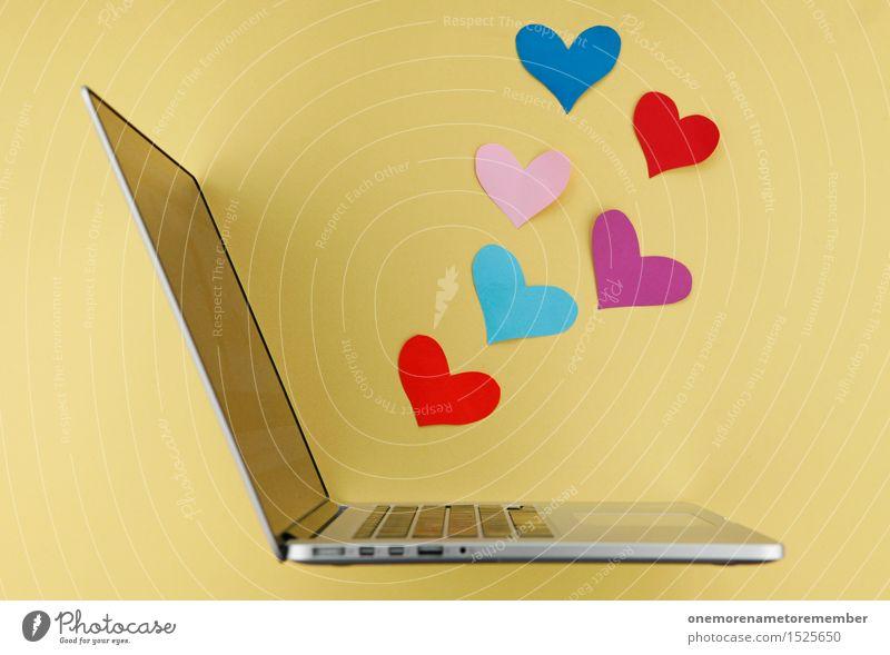cyberlove Art Work of art Esthetic Design Idea Shopping Trade Communicate Creativity Passion Network Notebook Work and employment Operational Love Infatuation