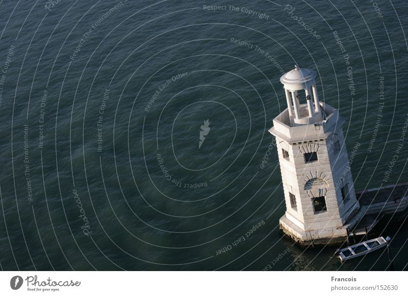 Lighthouse on San Giorgio Maggiore Venice Italy Water Watercraft Harbour Venezia Tower Vacation & Travel Ocean