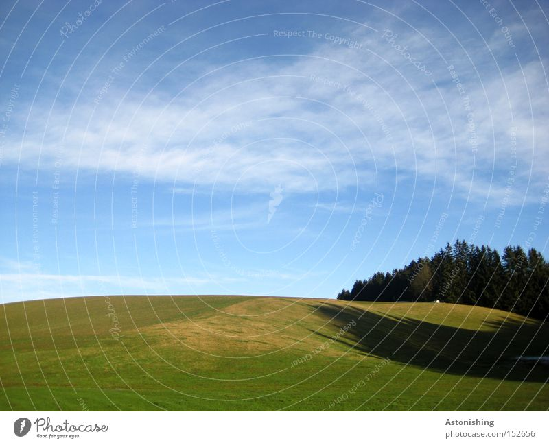 Wnidows - Background Nature Landscape Sky Clouds Horizon Autumn Meadow Forest Hill Blue Green Background picture Floor covering Ground Shadow Contrast Pasture
