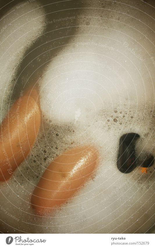 Water Black Above Legs Bathroom Bathtub Duck Foam Bird Thigh