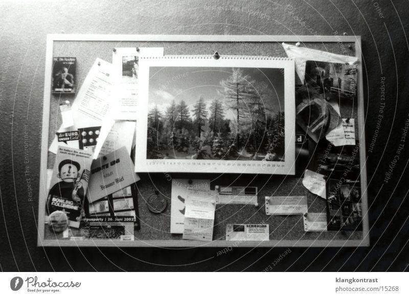 Living or residing Things Card Piece of paper Calendar Blackboard Bulletin board