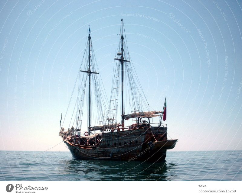 pirate ship Portugal Watercraft Europe