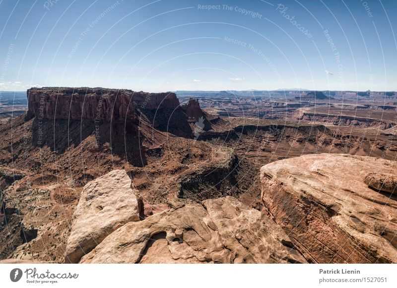 Land of Canyons Contentment Vacation & Travel Tourism Trip Adventure Far-off places Freedom Expedition Summer Mountain Hiking Environment Nature Landscape