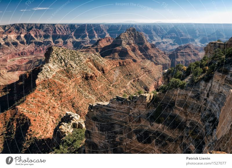 Grand Canyon Sky Nature Vacation & Travel Summer Landscape Far-off places Mountain Environment Warmth Freedom Rock Tourism Weather Trip Climate