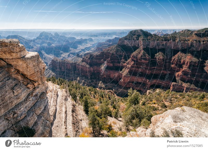 Grand Canyon Sky Nature Vacation & Travel Blue Summer Landscape Mountain Environment Warmth Life Autumn Earth Rock Weather USA Climate