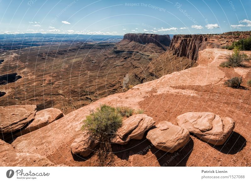 Canyonlands Relaxation Calm Vacation & Travel Tourism Trip Adventure Far-off places Freedom Expedition Summer Mountain Nature Landscape Sky Climate