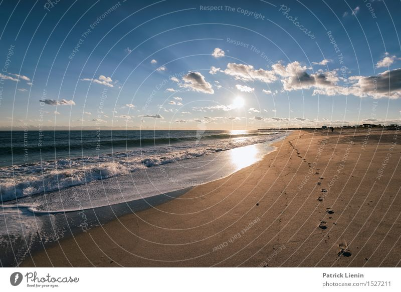 Beyond the Five Senses Beautiful Vacation & Travel Adventure Freedom Sun Beach Ocean Waves Environment Nature Landscape Sand Sky Clouds Summer Climate