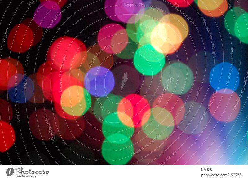 New Year's Eve Confetti Multicoloured Light Blur Carnival Happiness Feasts & Celebrations Circle Point Joy Exuberance confetti Colour