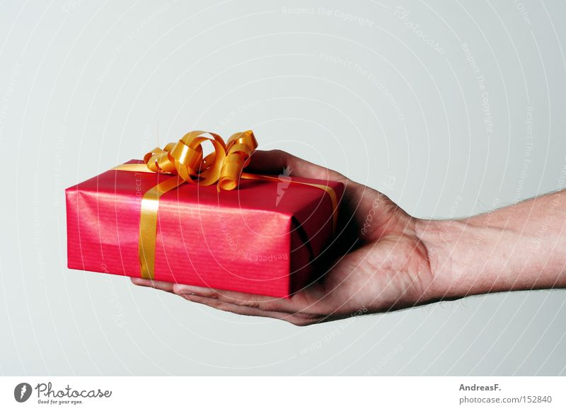 Hand Christmas & Advent Joy Birthday Gift Luxury Surprise Rich Thank you very much Bow Give Valentine's Day Donate Jubilee Apology Christmas gift