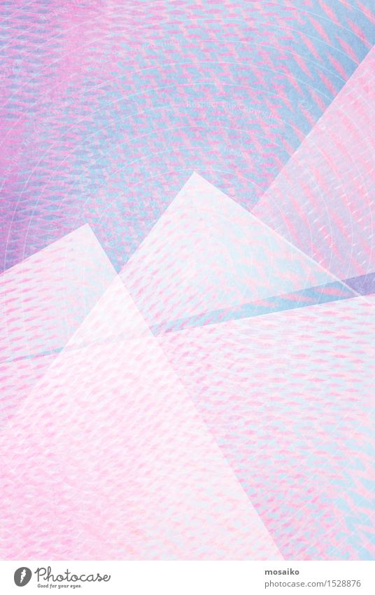 grid 8 Blue Colour White Mountain Style Lifestyle Art Line Bright Pink Design Elegant Creativity Retro Simple Paper
