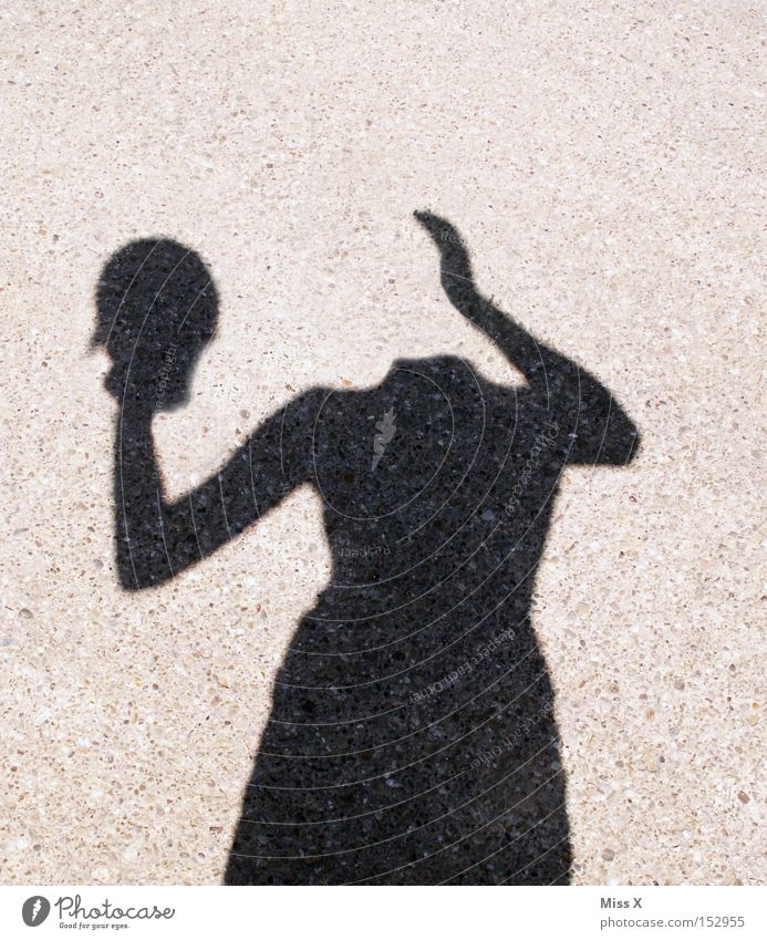 Woman Hand Adults Street Head Lanes & trails Crazy Whimsical Ghosts & Spectres  Silhouette Forget Headless Shadow play Light Phenomenon Spook